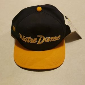 NWT Notre Dame Baseball Hat